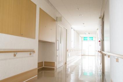 福祉施設の廊下
